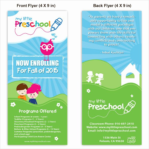 Child Care Flyer Templates Lovely 33 Daycare Flyer Templates Word Psd Ai Eps Vector
