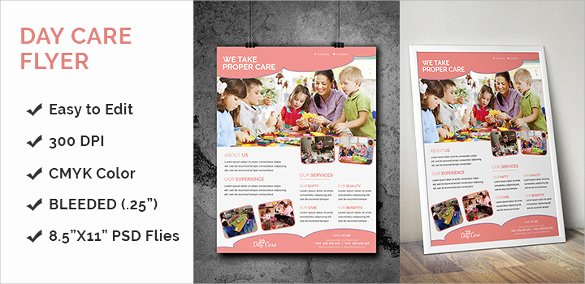 Child Care Flyer Templates Luxury 33 Daycare Flyer Templates Word Psd Ai Eps Vector