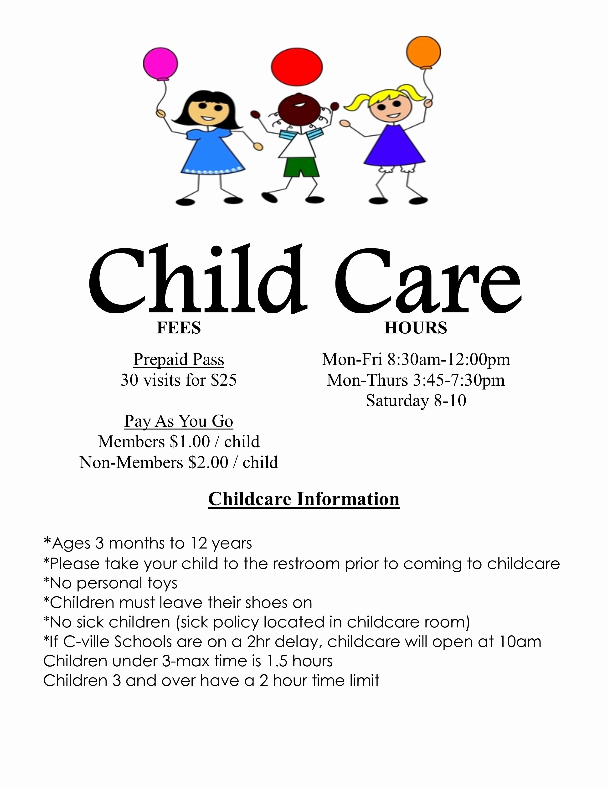 Child Care Flyer Templates Unique Child Care Flyers Examples