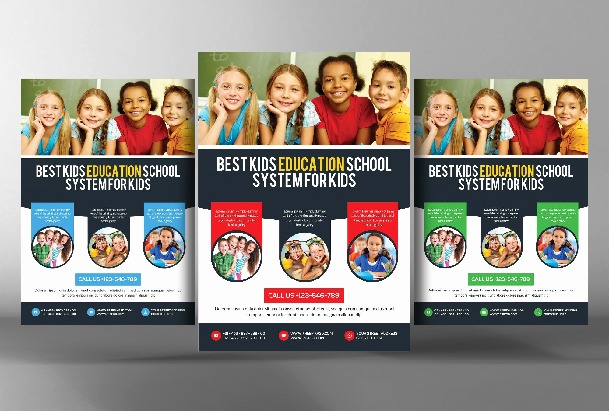 Child Care Flyers Templates New Preschool Kids & Day Care Flyer Flyer Templates