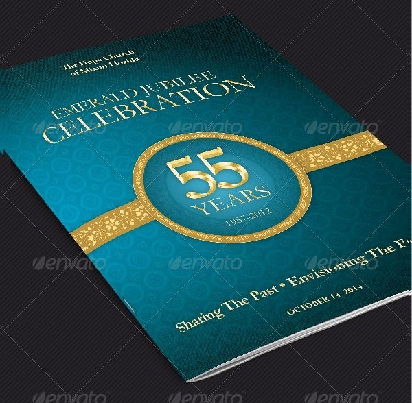 Church Anniversary Program Templates Free Inspirational 20 Cover Templates Free Psd Vector Eps Png format