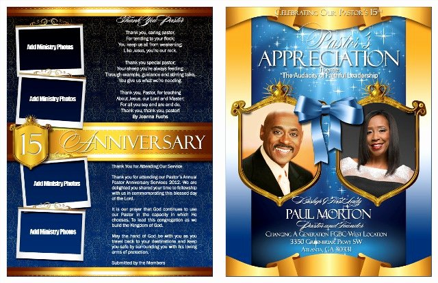 Church Anniversary Program Templates Free Unique 17 Best Of Pastor Graphic Backgrounds Pastor