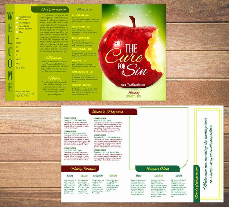Church Bulletin Templates Free New Free Church Bulletin Templates 8 Professionally Designed