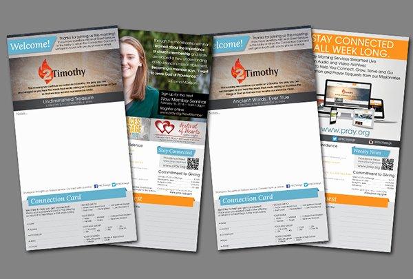 Church Bulletin Templates Free New Weekly Church Bulletin Layout On Behance