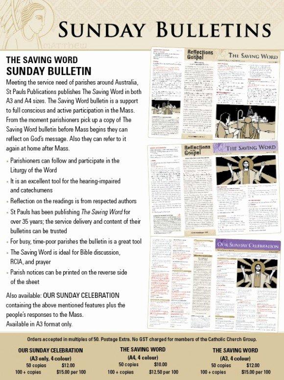Church Bulletin Templates Word Inspirational Line Book Shop