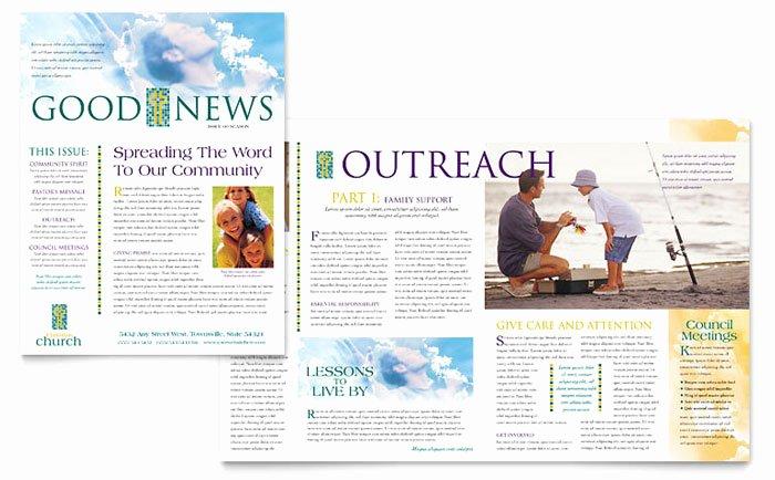 Church Bulletin Templates Word Lovely Free Church Bulletin Templates for Microsoft Word Campmust