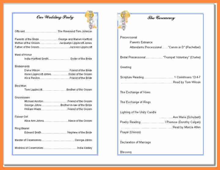 Church Bulletin Templates Word Luxury Free Printable Church Bulletin Templates