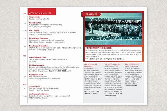 Church Bulletin Templates Word New Modern Church Bulletin Brochure Template
