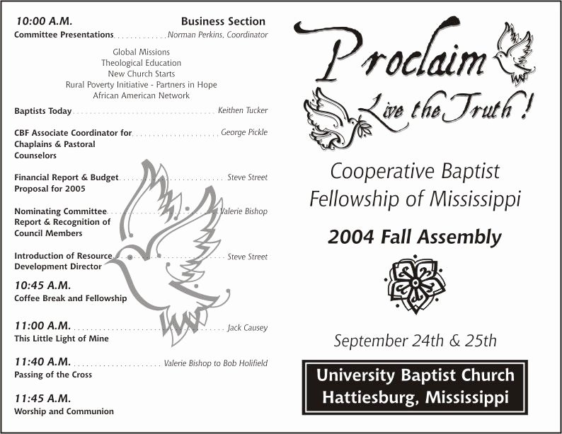 Church Bulletin Templates Word Unique Free Printable Church Program Template