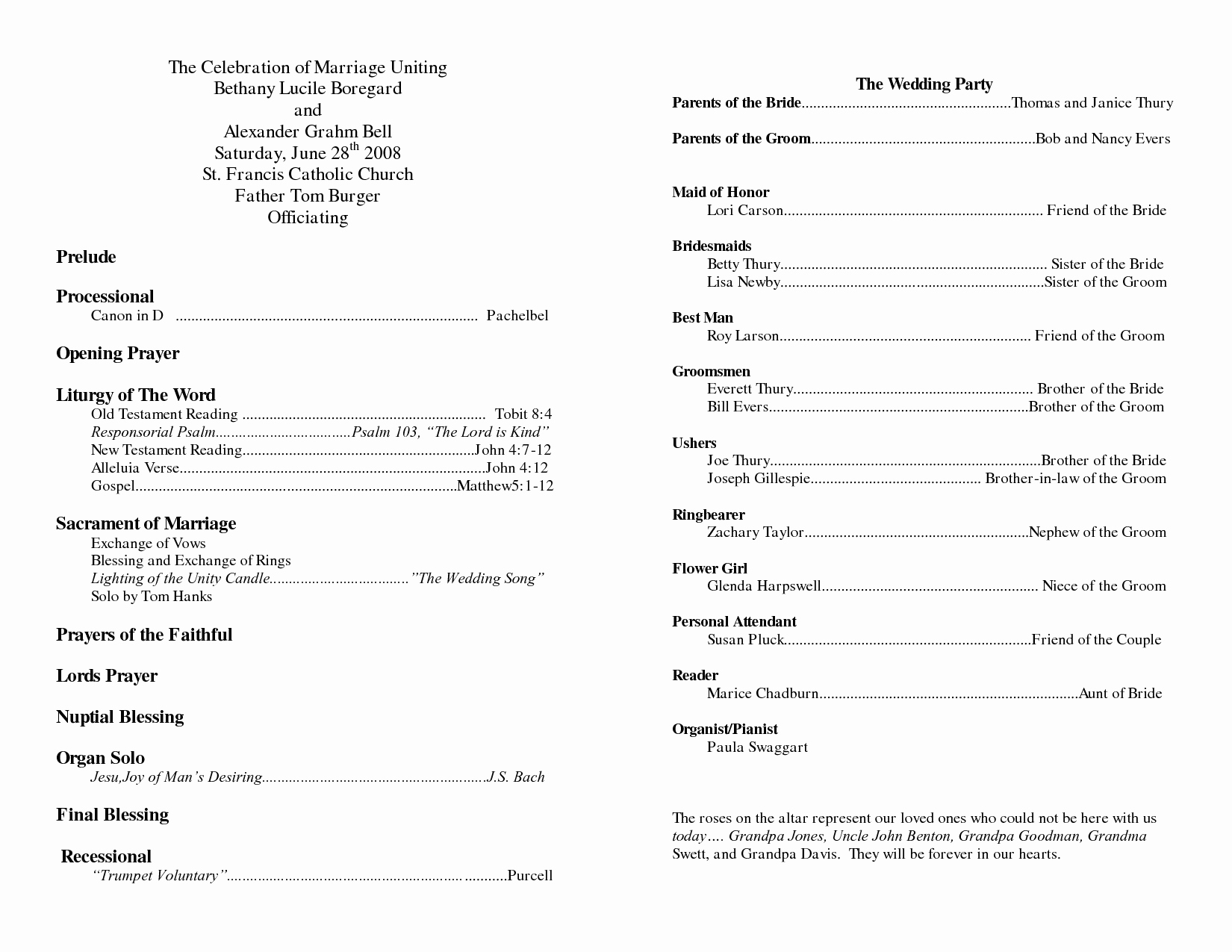 Church Program Template Free Lovely Church Program Christmas Templates – Festival Collections