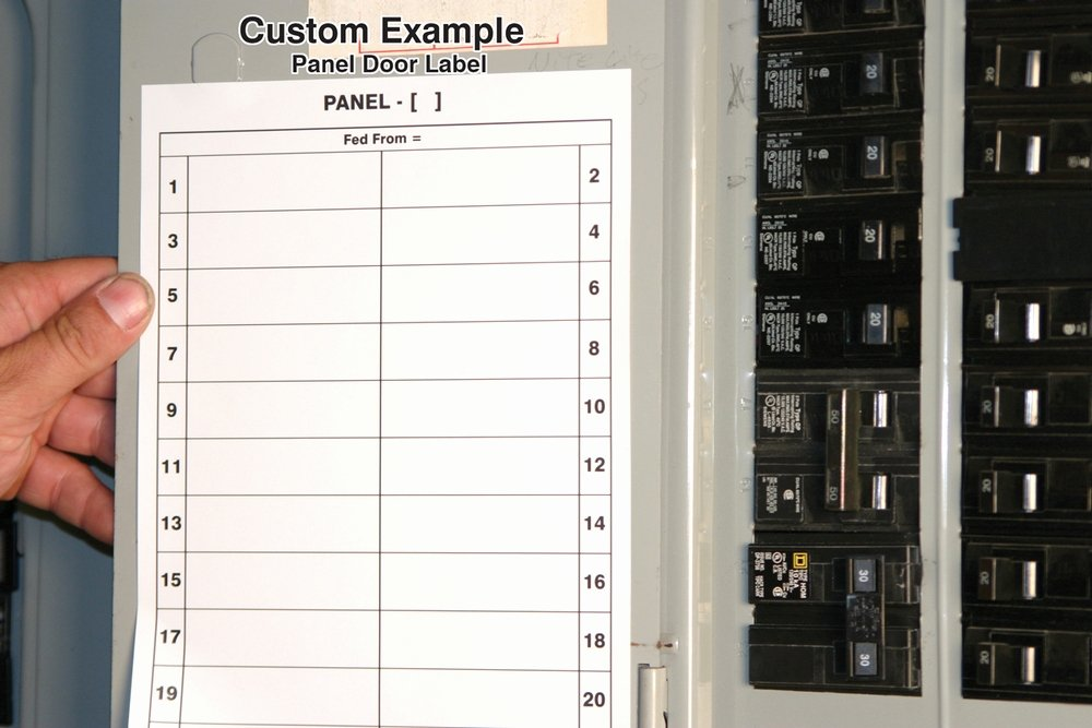 Circuit Breaker Directory Template Awesome Safety Signs Safety Tags and Safety Labels by Accuform Signs