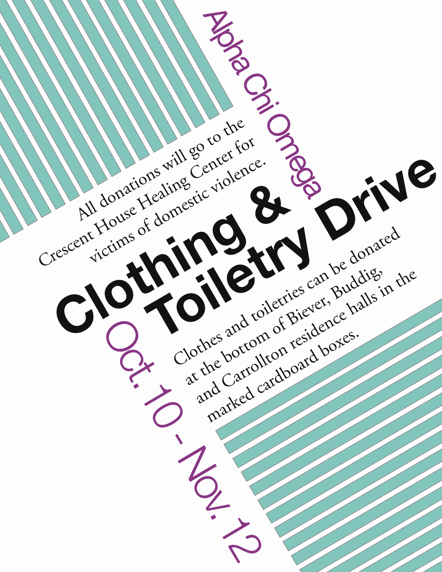 Clothing Drive Flyer Template Best Of Alpha Chi Clothing Drive Flyer by Iownthis On Deviantart