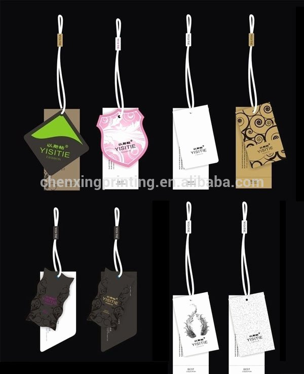 Clothing Hang Tag Template Awesome Nice Price Tag Bed Hang Tag Elastic for Garments Hang Tag