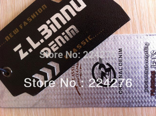 Clothing Hang Tag Template Beautiful Moq 200pcs Oem Swing Tag for Clothing Full Color Printing