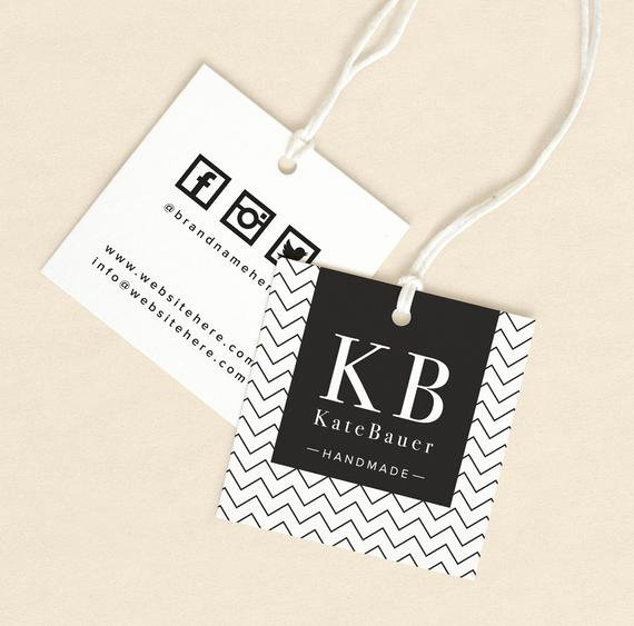 Clothing Hang Tag Template Beautiful Textile Tags Printed Label Custom Hang Tags Product Label
