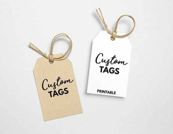 Clothing Hang Tag Template Best Of Custom Hang Tag Printable Template Custom Clothing Tag