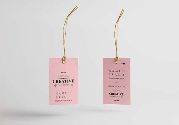Clothing Hang Tag Template Best Of Hang Tag Custom Clothing Label Printable Custom Labels for