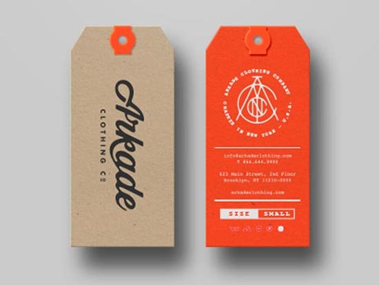 Clothing Hang Tag Template Lovely 25 Best Hang Tags Designs & Ideas for Products