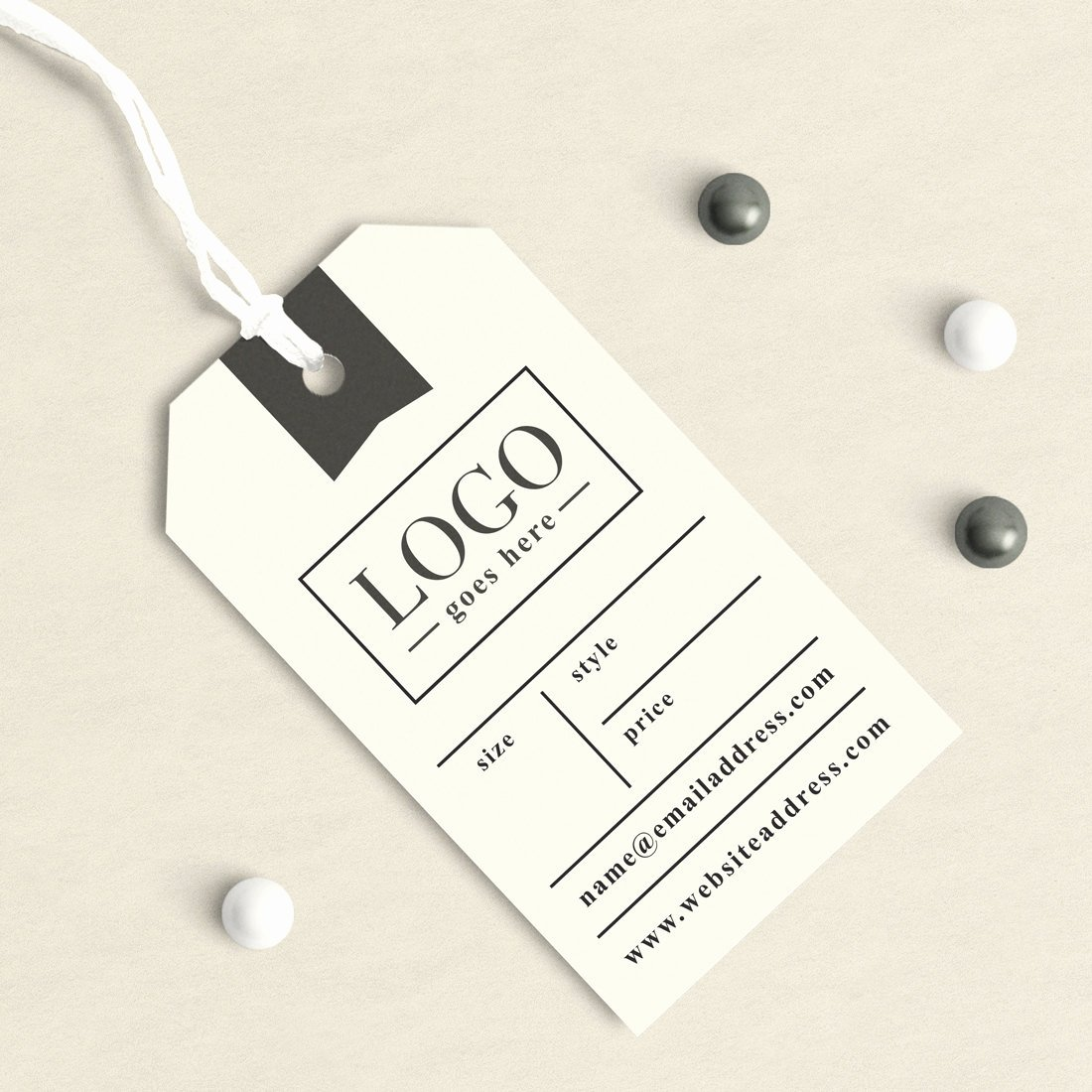 Clothing Hang Tag Template Lovely Custom Clothing Labels Clothing Tags Custom Hang Tags