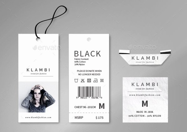 Clothing Hang Tag Template New 20 Hang Tag Designs Vector Eps Ai Illustrator Download