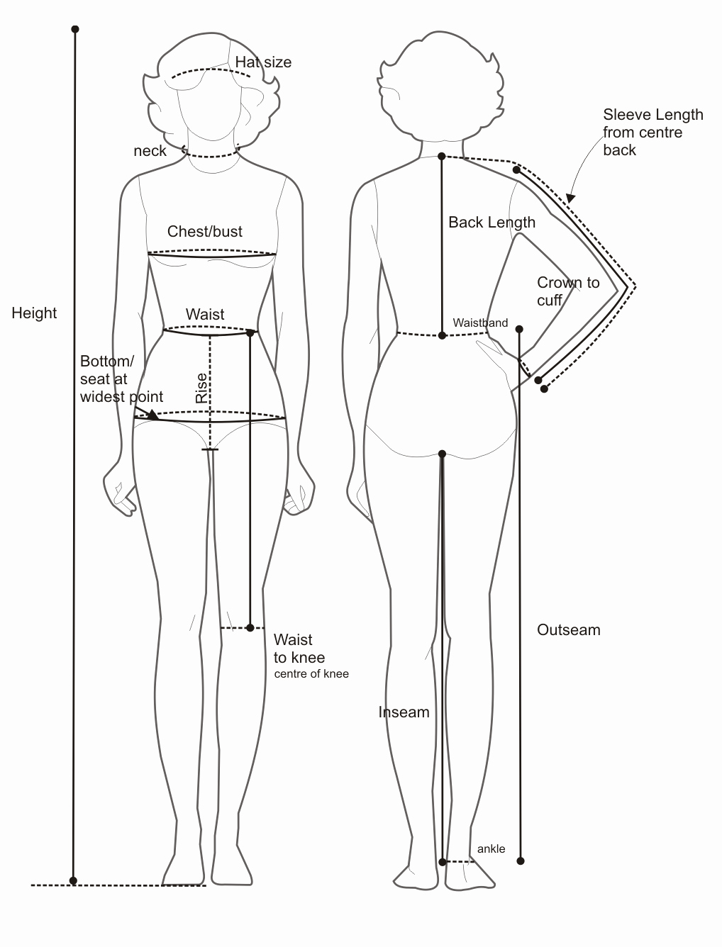 Clothing Size Chart Template Best Of J Von Stratton May 2010