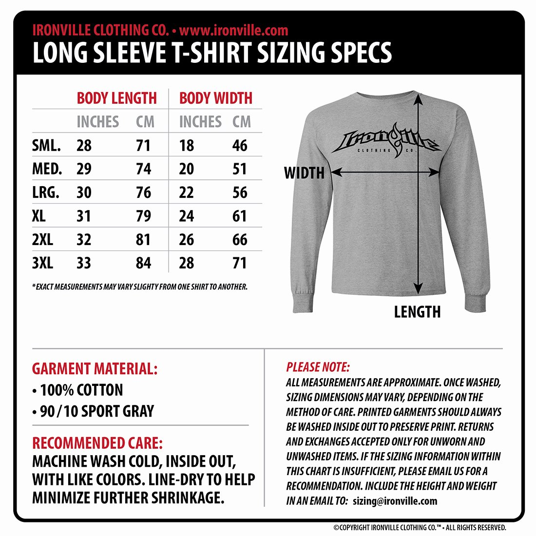 Clothing Size Chart Template Lovely Dept Of Corrections