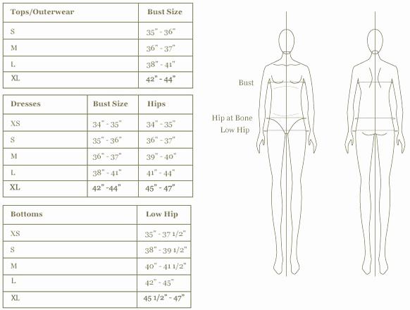 Clothing Size Chart Template Luxury Maternity Size Chart