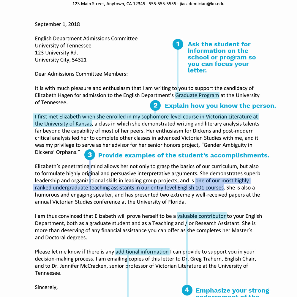 College Admission Recommendation Letter Template Best Of Academic Re Mendation Letters