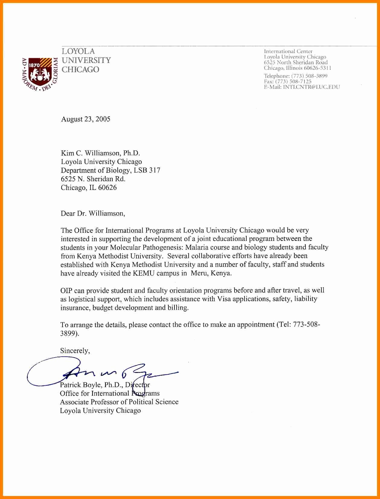 College Admission Recommendation Letter Template Elegant 12 Letter Of Re Mendation for University Admission