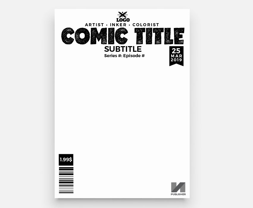 Comic Book Cover Template Elegant How to Make A Ic Book Cover Graphic Design