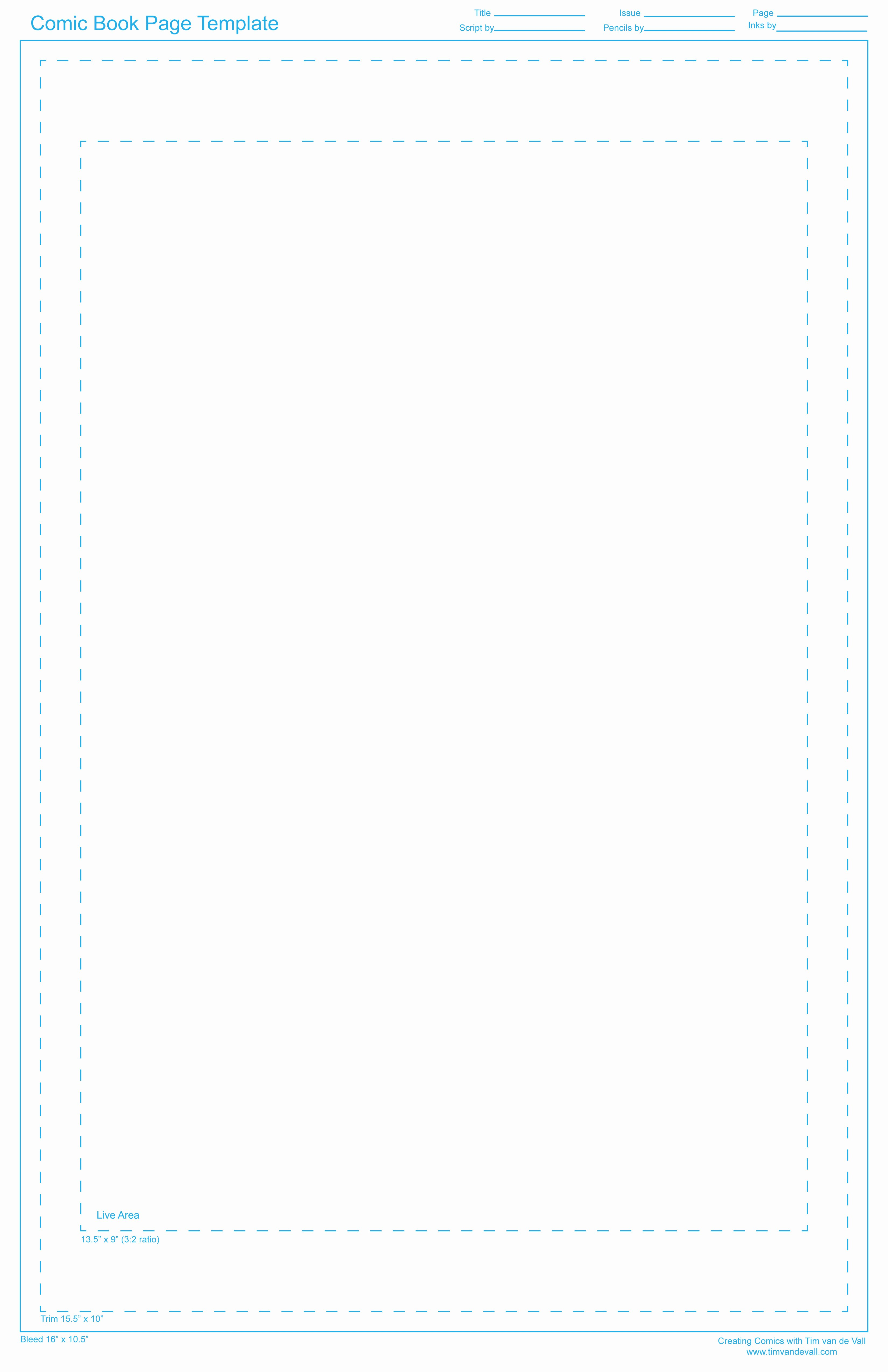 Comic Book Cover Template Lovely Free Ic Book Page Template Creating Ics with Tim