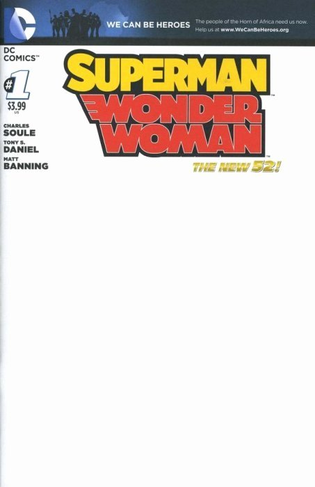 Comic Book Cover Template New Superman Wonder Woman 3d Dc Ics Icbookrealm