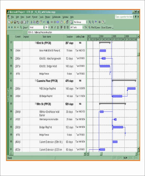 Commercial Construction Schedule Template Luxury 13 Excel Construction Schedule Templates