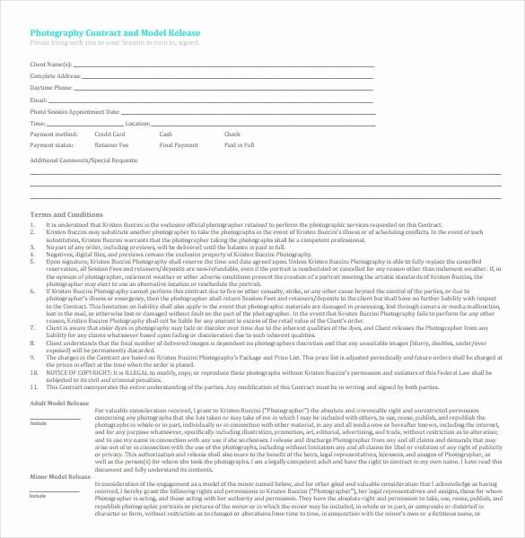 Commercial Photography Contract Template Unique 22 Graphy Contract Templates – Word Pdf Apple