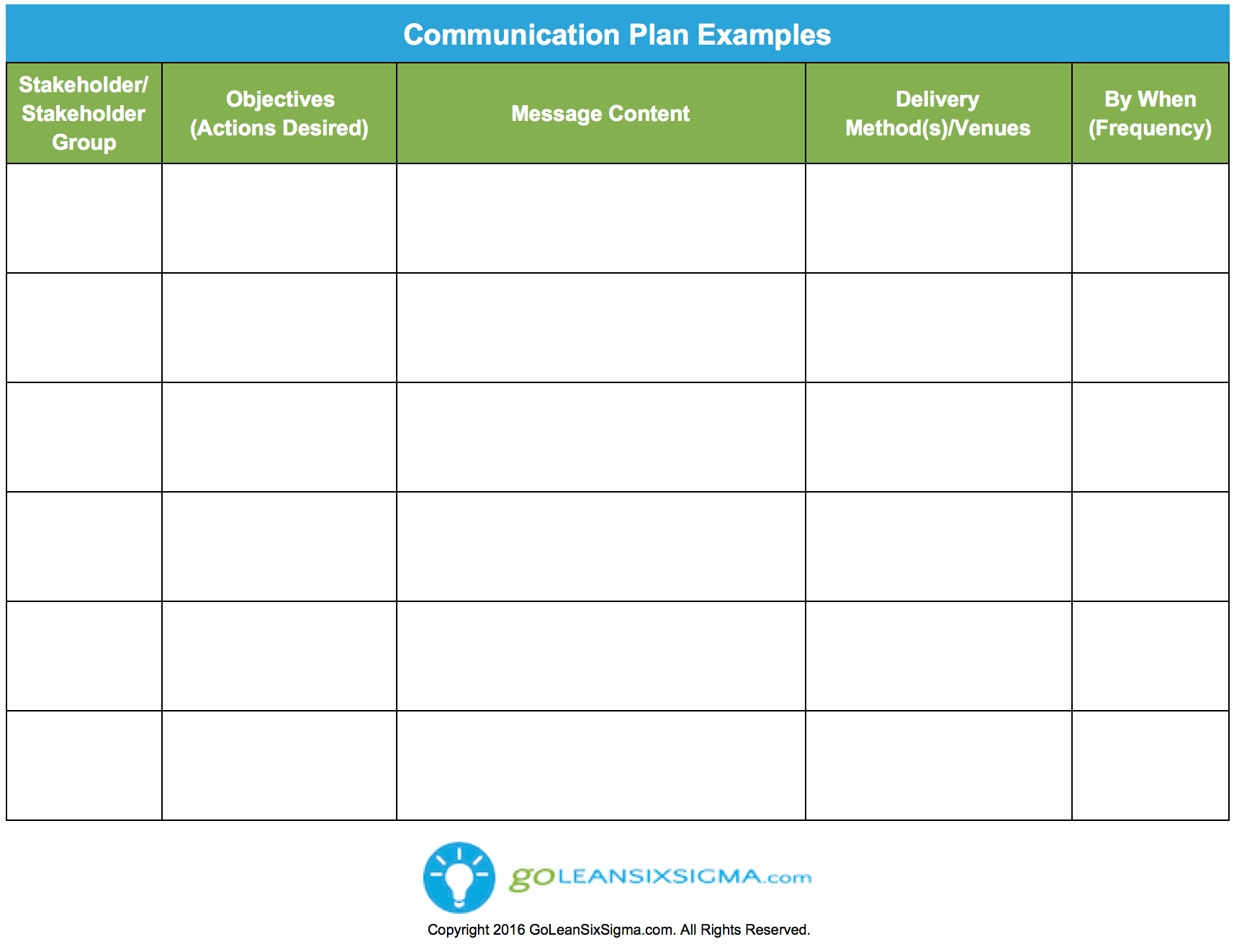 Communication Plan Template Free Beautiful Munication Plan Template & Example