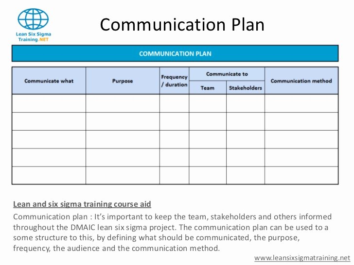 Communication Plan Template Free Elegant Munications Plan Template