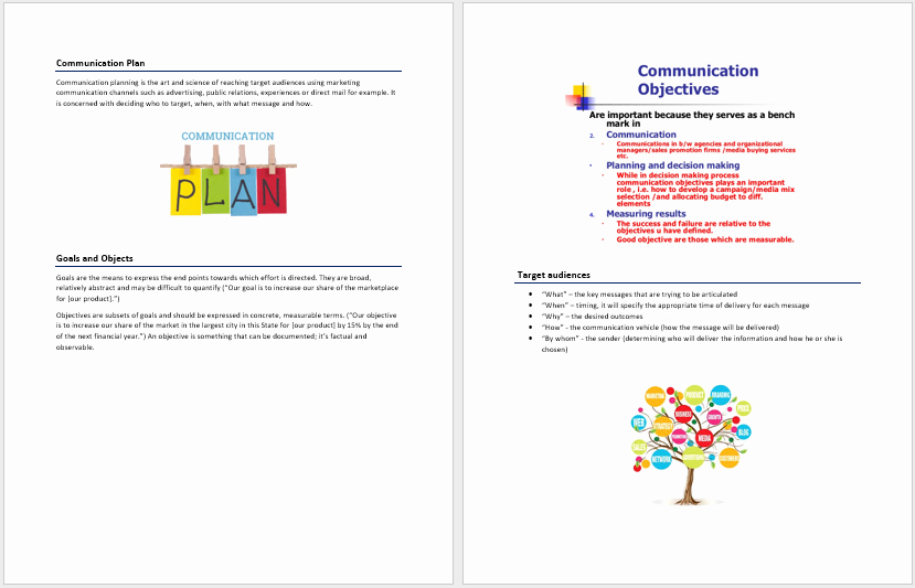 Communication Plan Template Free Inspirational Munication Plan Template – Word Templates for Free Download