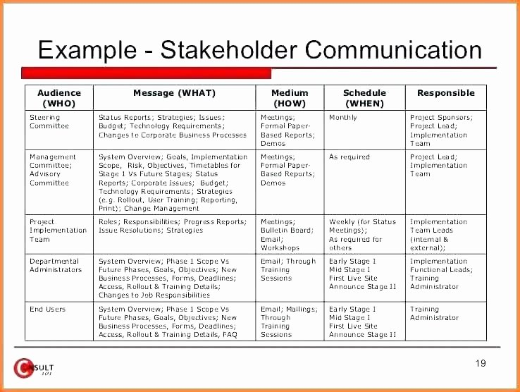 Communication Plan Template Free Lovely 28 Of Program Munication Plan Template