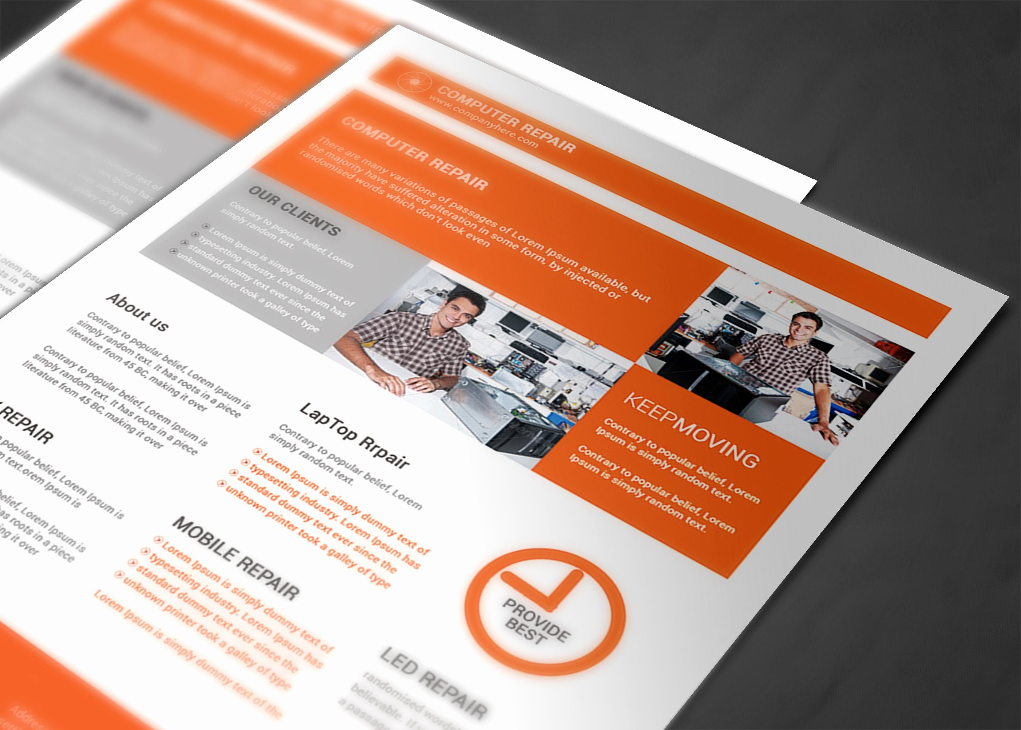 Computer Repair Flyer Templates Elegant Puter Repair Flyer Template Flyer Templates On