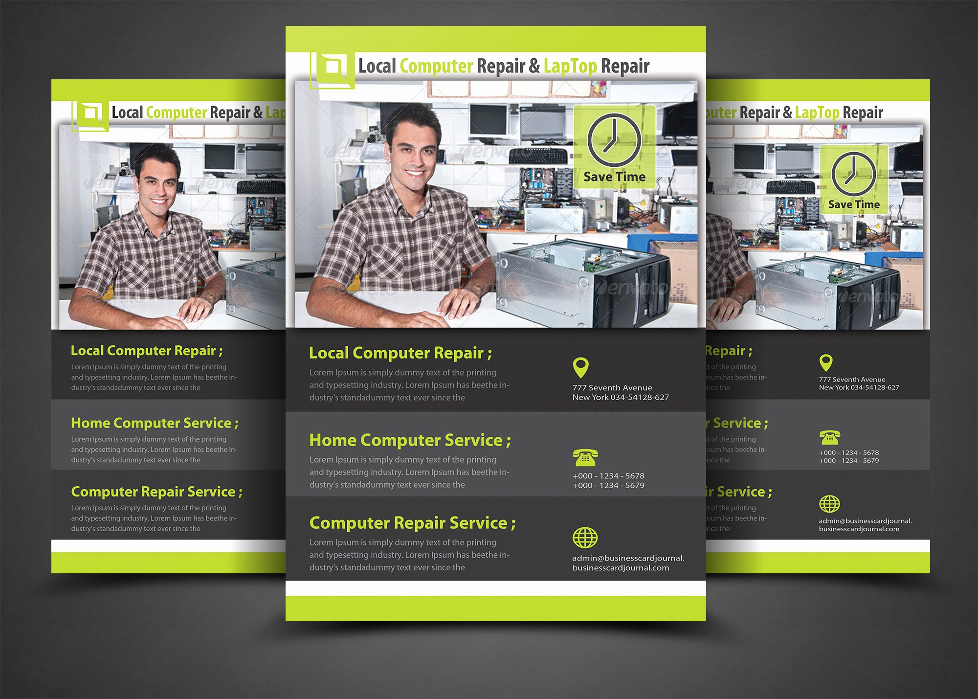 Computer Repair Flyer Templates Fresh Puter Repair Flyer Template Flyer Templates On