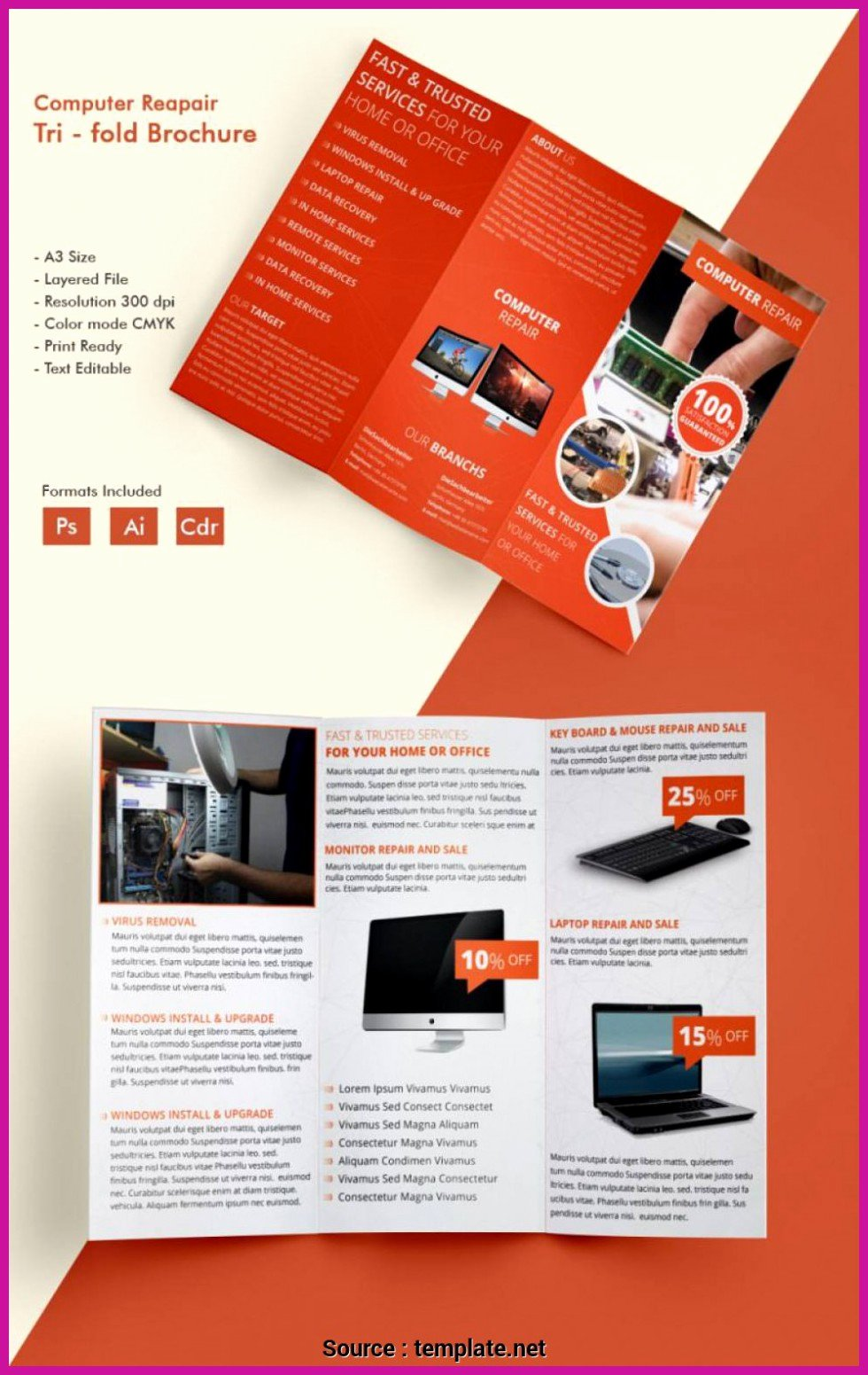 Computer Repair Flyer Templates Fresh top Entries Puter Repair Business Flyer Templates
