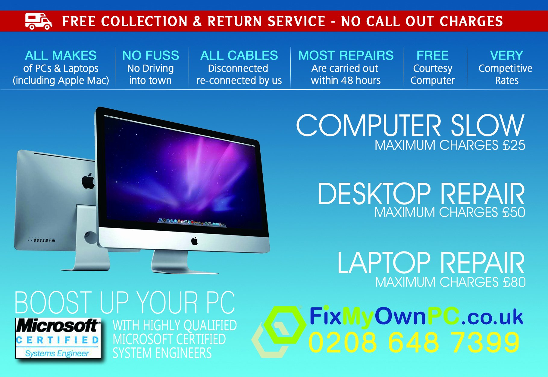 Computer Repair Flyer Templates Lovely 7 Best Of Line Flyer Design Example Of