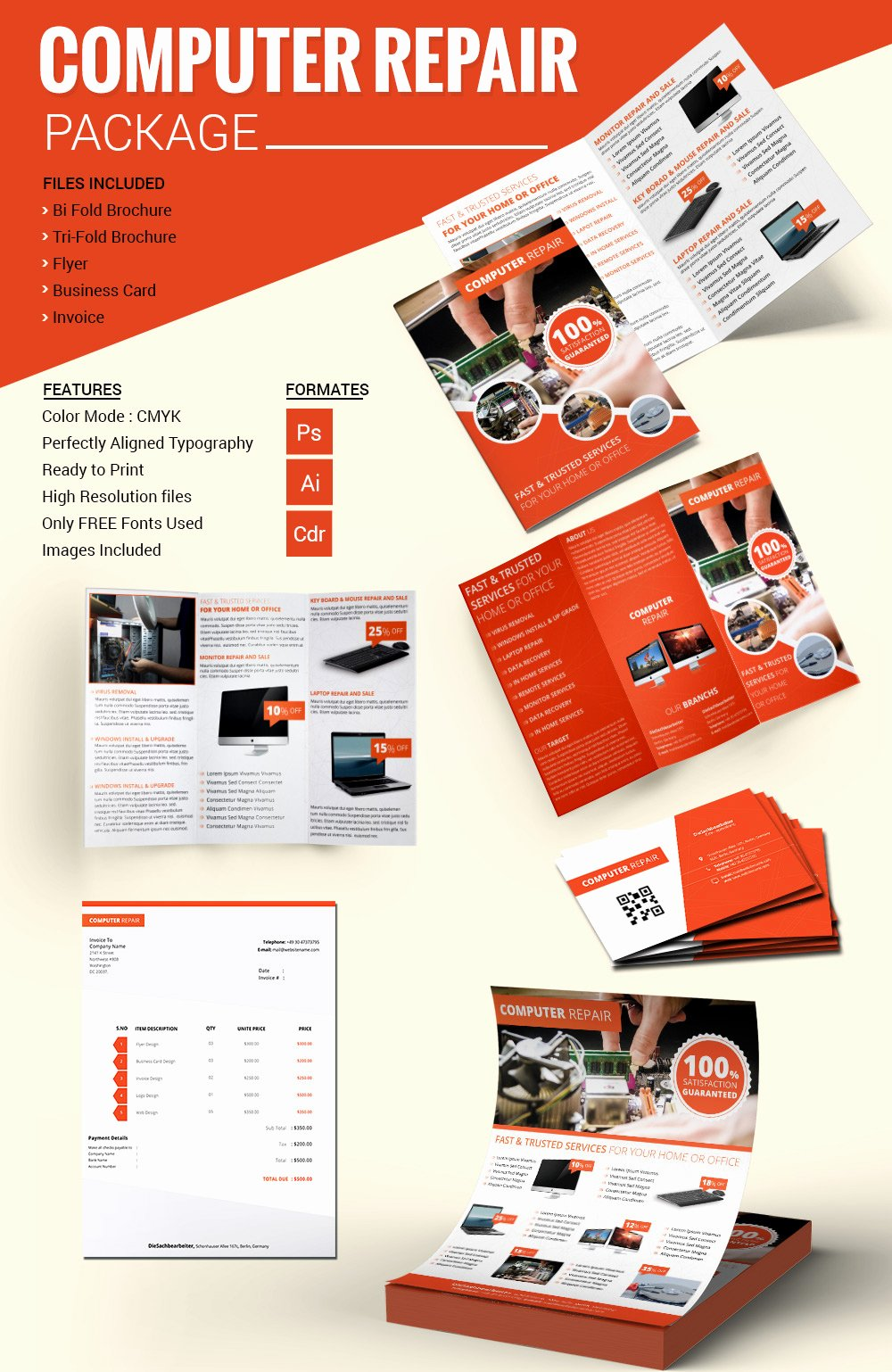 Computer Repair Flyer Templates Lovely Puter Repair Flyer Template – 21 Free Psd Ai format