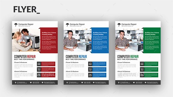 Computer Repair Flyers Templates Elegant 28 Puter Repair Flyer Templates Free Shop