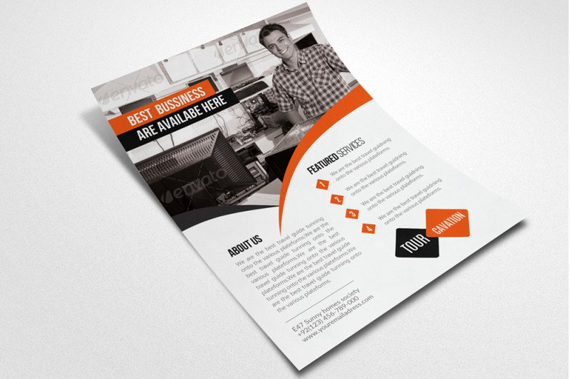 Computer Repair Flyers Templates Lovely Puter Repair Service Flyer Template by Designhub