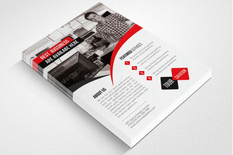 Computer Repair Flyers Templates Luxury Puter Repair Service Flyer Template by Designhub