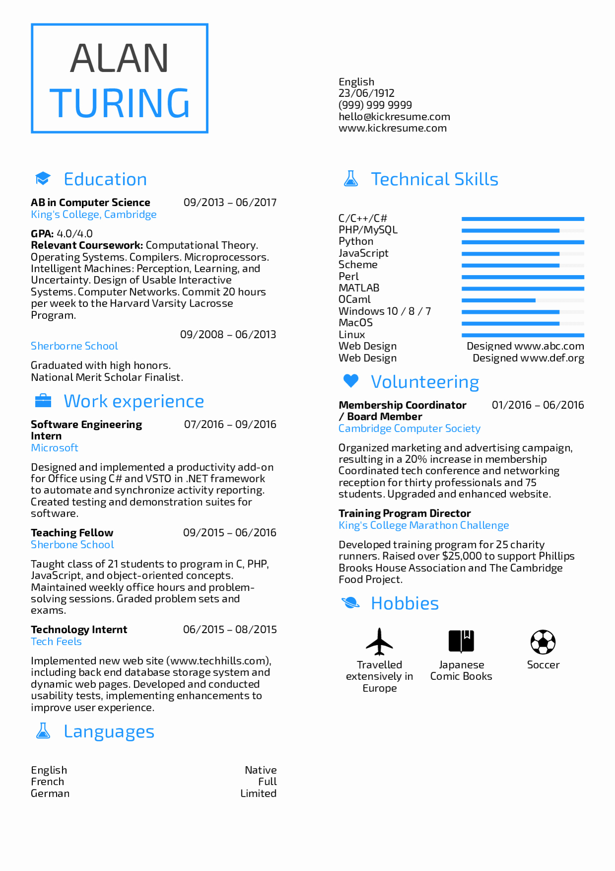 Computer Science Resume Template Best Of Resume Examples by Real People Student Resume Puter
