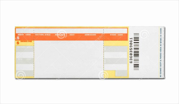 Concert Ticket Template Free Beautiful 29 Concert Ticket Templates Psd Vector Eps