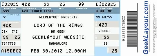 Concert Ticket Template Free Best Of Fake Concert Ticket Generator Wedding Planning