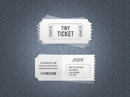 Concert Ticket Template Psd Lovely 33 Free Ticket Templates & Psd Mockups for Your Next